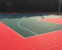 河北省军区室外篮球场
