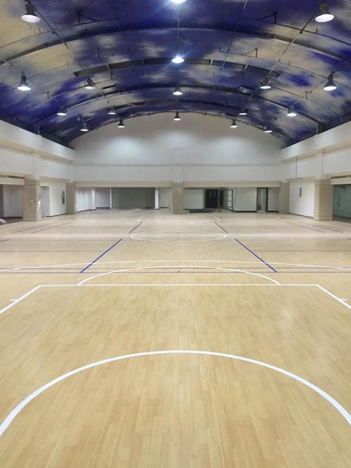河北省军区室内篮球场