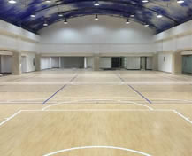 Hebei Military Region, indoor basketball court